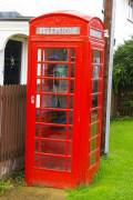 Old phonebox, rapidly becoming a rarity/museum piece