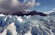 Looking ahead on the glacier