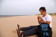 Sarnies on the beach
