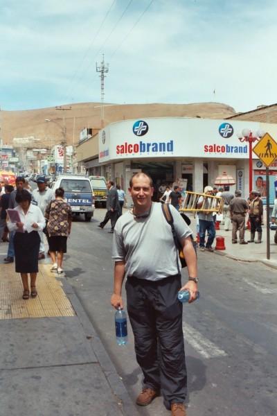 Shopping in Arica