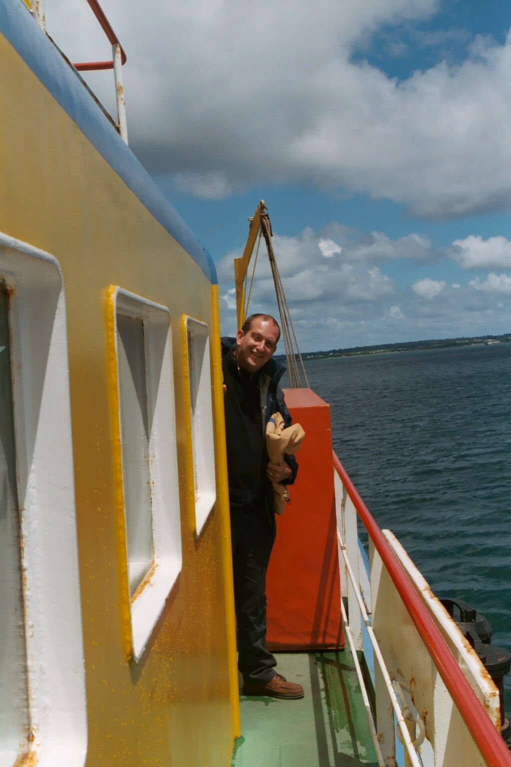 On board the ferry to Chiloé