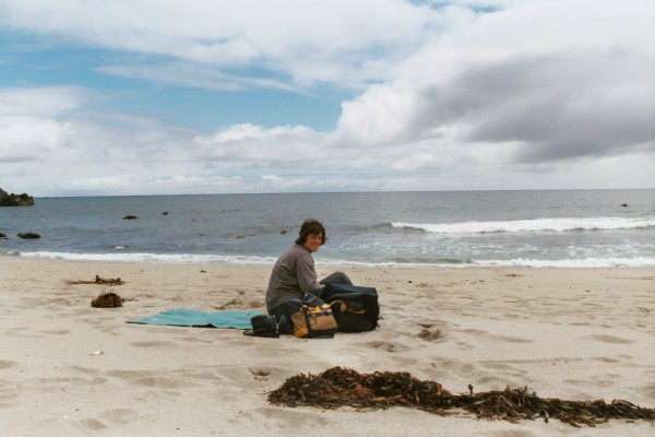 On the beach at Chiloé